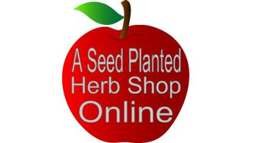 A Seed Planted Herb Shop Banner